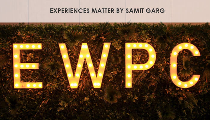 Experiences Matter by Samit Garg