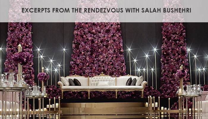 Excerpts from the rendezvous with Salah Bushehri