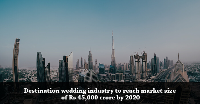 Indian Destination Wedding industry to reach market size of Rs 45,000 crore by 2020