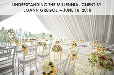 Understanding the Millennial Client by JoAnn Gregoli – June 18, 2018