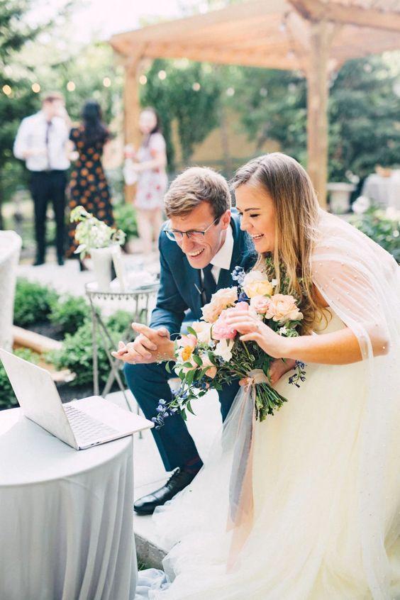 Zoom weddings in 2021